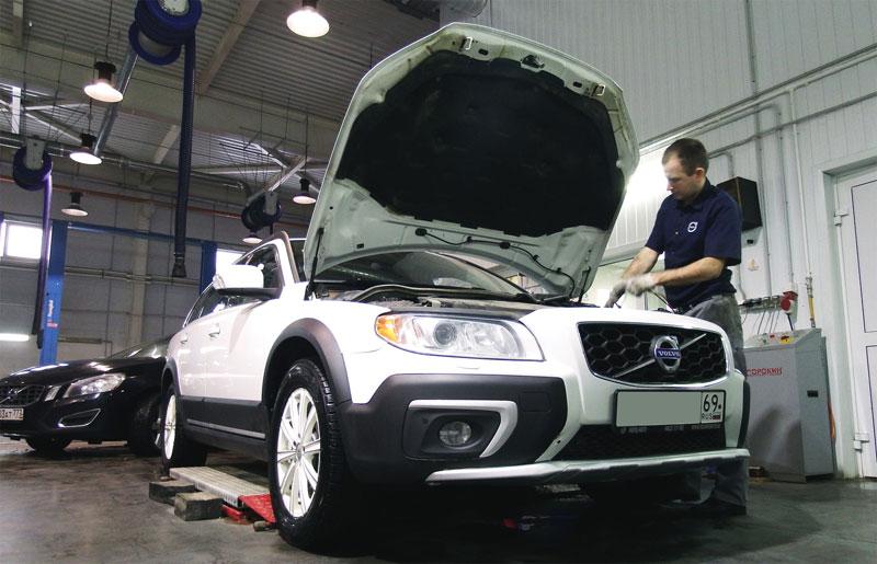 гарантийный срок обслуживания автомобиля volvo